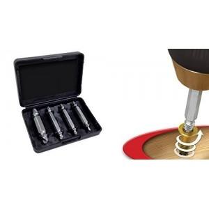 Kit 4 extracteurs de vis ou de parties endommagées [Classe d'efficacité énergétique A]