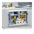 Organisateur modulaire 2 étagères pour intérieur d'armoires et de meubles