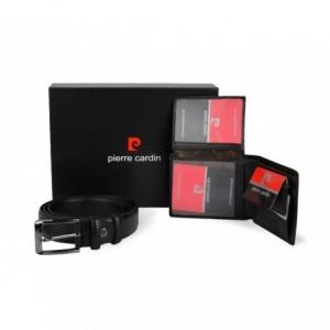 8866 - Coffret cadeau Pierre Cardin comprend ceinture en cuir et  porte-monnaie ... 81111830adb