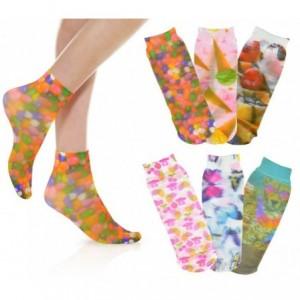 038- 4 - Pack de 6 paires de chaussettes 20 den motifs FANTASIA