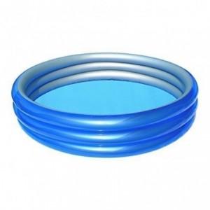 51103 - Bestway - Piscine gonflable 3 anneaux effet nuage 152 x 30 cm