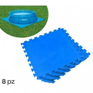 54006 -Piscine rectangulaire vinyle gonflable - Bestway - 262x175x51 cm- 2 anneaux