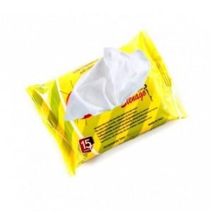 3 Paquets de 45 lingettes imprégnées de citronnelle - Anti-moustiques