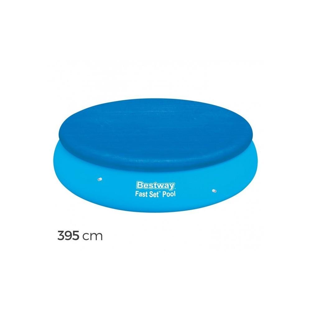 58034 couverture pour piscine hors sol ronde 395 cm. Black Bedroom Furniture Sets. Home Design Ideas