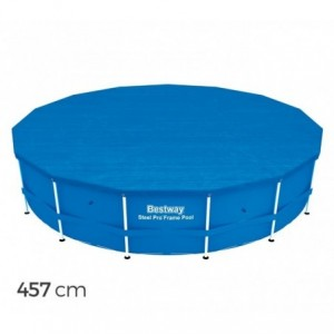 58038 Couverture de piscine Bestway en PE - 457 cm