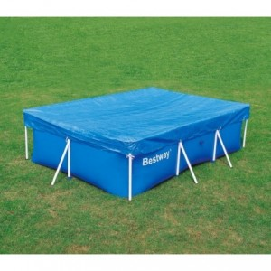58106 couverture de piscine rectangulaire 304x205 cm PVC Bestway