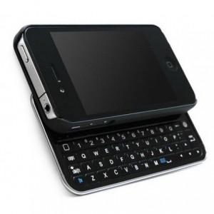 Clavier coulissant sans fil Bluetooth pour iPhone 4/4s