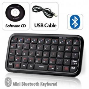 Mini clavier qwerty avec couvercle pour iphone (bluetooth wifi)