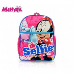 MI16105- Sac à dos - cartable - fourniture scolaire - Minnie Mouse - 31x25x10 cm