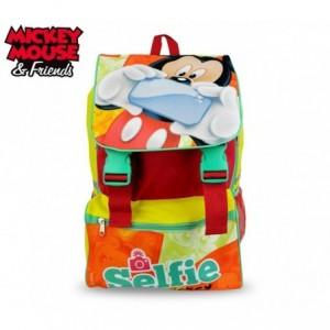 MK16101- Sac à dos pour l'école Mickey Mouse - 41x28,5x20cm - DISNEY