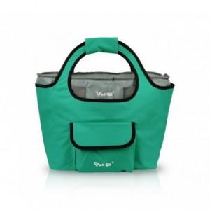 161227-FREE GO- Sac 2 en 1 isotherme et sac de shopping - différentes couleurs (Vert)
