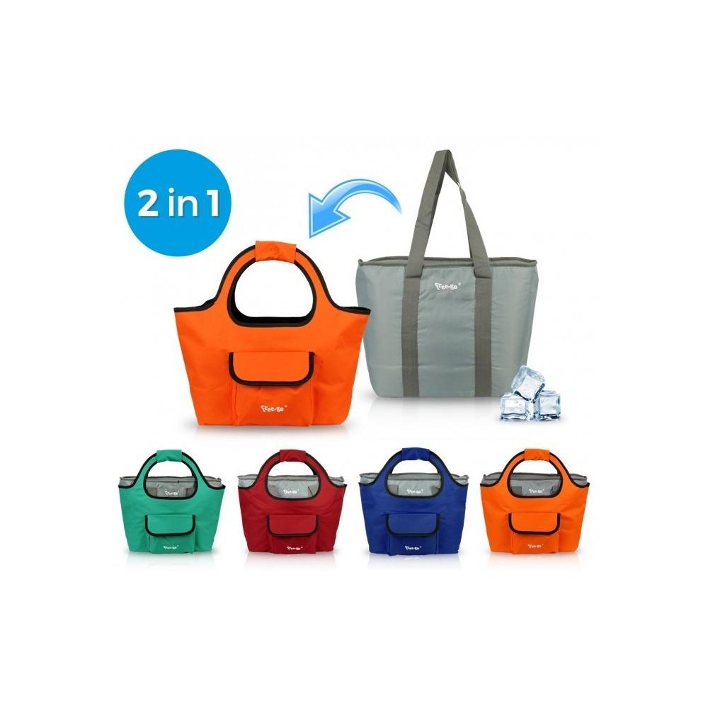161227 sac 2 en 1 isotherme et sac de shopping free go - Www espacedestinataire com ...