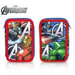 AV16109 - Trousse à trois compartiments + 43 pièces - The Avengers - MARVEL