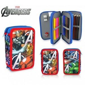 AV16109 Trousse à trois compartiments avec 43 pièces - The Avengers - MARVEL