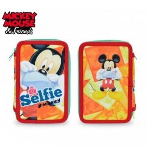 MK16109 - Trousse à trois compartiments + 43 pièces - Mickey Mouse - DISNEY