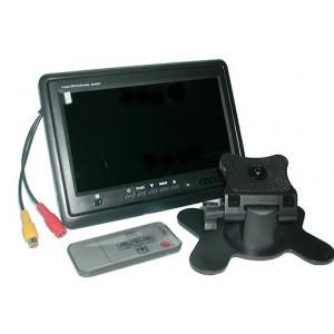 Moniteur LCD TFT 7' appui-tête et surveillance mod 2