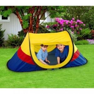 167816 - Tente de jardin pour enfant avec système Pop Up - 170x85x70 cm Cigioki