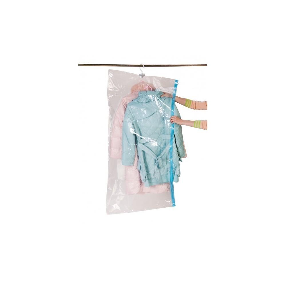 sac housse de rangement sous vide avec ceintre pour organiser. Black Bedroom Furniture Sets. Home Design Ideas