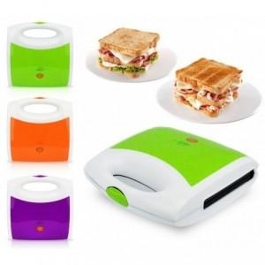 619807 - Toaster électrique 750W Capriccio - Double plaque pour toast et paninis