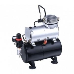 Mini compresseur - Réservoir 3 litres TC-20T Aérographe et peinture
